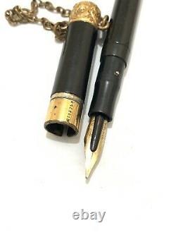 1900-1910's Old Swan Mabie Todd Eyedropper Fountain Pen