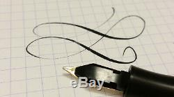 1930 MONTBLANC III SIMPLO Original C flex nib Black hard rubber vintage HR FP