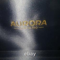 Aurora Mare Fountain Pen Gold M Nib