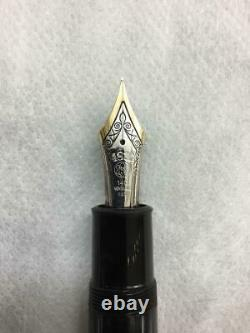 Authentic MONTBLANC MEISTERSTUCK Model 149 K14 Gold 4810 Fountain Pen Vintage