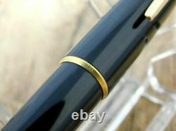 BEAUTIFUL! MONTBLANC 320 FOUNTAIN PEN VINTAGE BLACK GOLD 14k-585 GERMANY