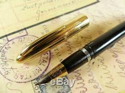 Black Sheaffer Crest Standard Lifetime Fountain Pen restored