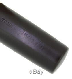 Circa 1920 Conklin 75 Black Chased Hr Crescent Filler Fountain Pen Restored