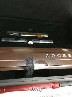Cross Sauvage 2014 Year Of The Horse Imperial White Lacquer Fountain Pen M Nib