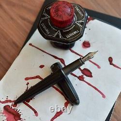 Diplomat Aero Black Fountain Pen Stainless Steel Nib