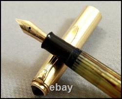 Extremely Rare Vintage Pelikan 500 Nn Tortoise Fountain Pen 1956