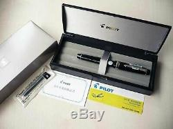 FA nib Pilot NAMIKI Custom Heritage 912 Fountain Pen Falcon Converter 14K #10
