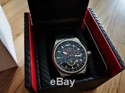 Giorgio Piola Watch Strat-3 Black Ltd Sport Chrono Watch Ltd Edition