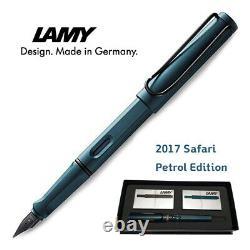 LAMY Safari Petrol Edition Fountain Pen withInk Cartridges