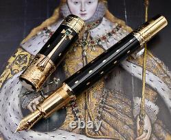 MONTBLANC Elizabeth I 2010 Patron of Art Limited Edition Fountain Pen 4810 F