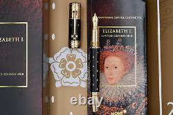 MONTBLANC Elizabeth I 2010 Patron of Art Limited Edition Fountain Pen 4810 M