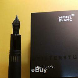MONTBLANC MEISTERSTÜCK 146 LE GRAND Ultra Black nib M Fountain Pen