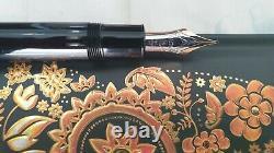 MONTBLANC MEISTERSTUCK 149 14C Gold 4810 M Nib Piston Fountain Pen Two Tone RARE