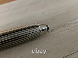 MONTBLANC Meisterstuck Solitaire Black & White LeGrand (146 size) Fountain Pen