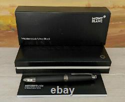 MONTBLANC Meisterstuck Ultra Black Classique 145 Fountain Pen, NOS