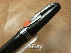 Marlen Fountainpen. It Aleph Fountain Pen Flex Nib Piston Fill In Black Numbrd