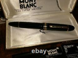 Montblanc Meisterstuck 149 Fountain Pen 14k Gold 4810 NIB