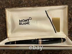 Montblanc Meisterstuck 4819 Fountain Pen 14k Gold 585