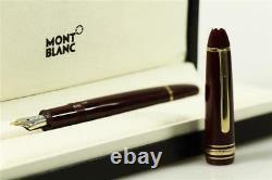 Montblanc Meisterstuck Le Grand No. 146 Bordeaux Fountain pen NEW + BOX