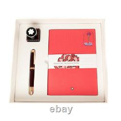 Montblanc Meisterstuck Le Petit Prince Happy Holiday Rose Set Fountain Pen M