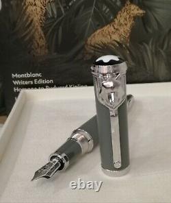 Montblanc Writer Edition Kipling Limited Edition Fountain Pen EF/ F/M Nib New