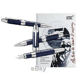 Montblanc Writers Limited Edition Antoine de Saint Exupéry Set FP BP MP 116114