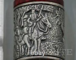 New! Fountain Pen Delta Lim. Ed. Don Quijote De La Mancha Ruby Red 0205/1605 F