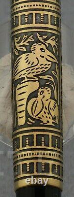 New! Fountain Pen Pelikan Toledo M 700 Nib M Wiht Box & Papers