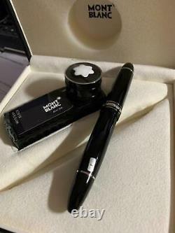 New Montblanc Meisterstuck Platinum 149 Fountain Pen F 18K Nib 114228 oversize