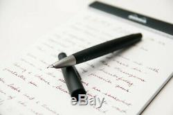 New and Unused Lamy 2000 Fountain Pen Black Extra Fine Nib L01EF