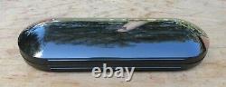 New rOtring 600 Anodized Black Fountain Pen BB Double Broad Nib