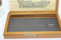Parker 75 SPANISH TREASURE 1715 Fleet Fountain Pen MINTY Boxed