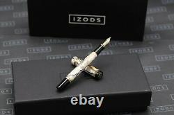 Parker Duofold International Pearl and Black Fountain Pen 1992 MK1