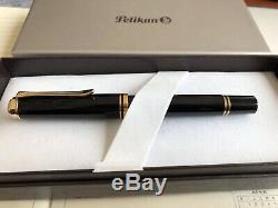 Pelikan Fountain Pen Ef Extra Fine Black M600 New