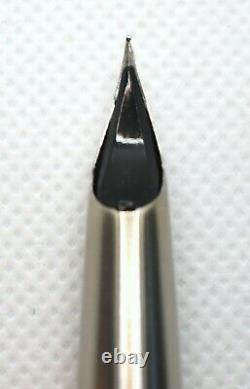 Pilot 701 Myu (Mu, not Murex) Fine (F but XF line) Fountain Pen 1970s Classic