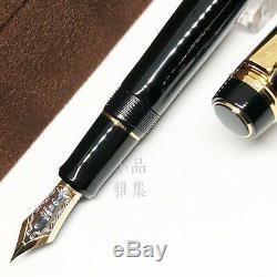 Pilot Custom 845 Urushi Maki-e Black 18K nib Fountain Pen