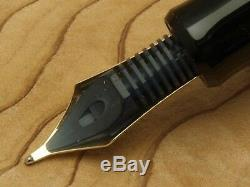 Pilot (NAMIKI) Custom 845 Broad-nib Ebonite Black Urushi Lacquer with converter