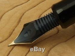 Pilot (NAMIKI) Custom 845 Fine-nib Ebonite Black Urushi Lacquer with converter