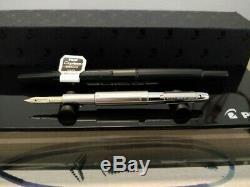 Pilot Namiki Capless Matt Black (Stealth) Fountain Pen 14K F nib Discontinued