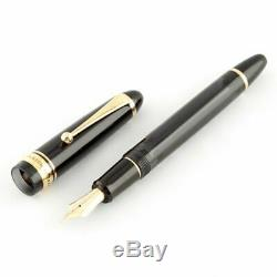 Pilot Namiki Custom 823 Fountain Pen Transparent Black Fine Nib FKK-3MRP-TB-F