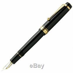 Pilot Namiki Custom 845 URUSHI Fountain Pen Black Medium Nib FKV-5MR-B-M