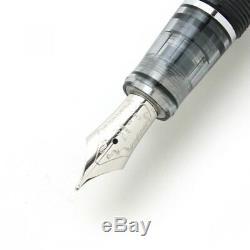 Pilot Namiki Custom HERITAGE 92 Fountain Pen Clear Black Fine Nib FKVH-15SRS-TBF