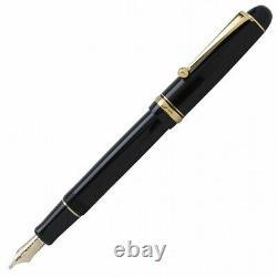 Pilot Namiki New Custom 74 Fountain Pen Black Music (MS) Nib FKKN-14SR-BMS