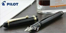 Pilot Namiki New Custom 74 Fountain Pen Black SFM Nib FKKN-12SR-BSFM