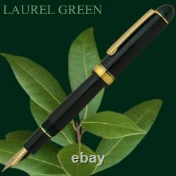 Platinum New #3776 CENTURY Fountain Pen Laurel Green SF Nib PNB-13000#41-0
