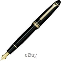 Profit Standard 21 Sailor Zoom Z Black nib 21k Fountain Pen Gold-plated Japan