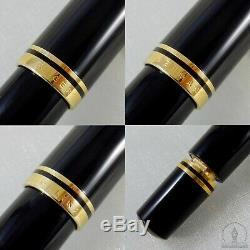 Rare Old Style Pelikan M800 Black GT Fountain Pen 14C! OM Nib W-Germany 1988