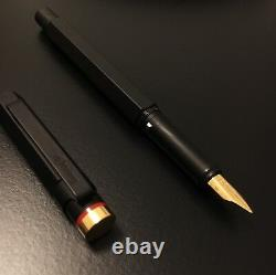 Rotring 600 Newton Fountain Pen Gold M 18k nib Bauhaus rOtring