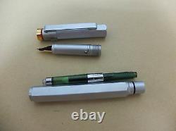 Rotring 600 Newton Gold Fountain Pen Silver