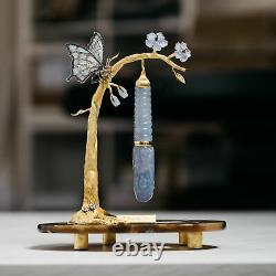 ST Dupont Stones Fortune Butterfly Sapphires & Diamonds Fountain Pen